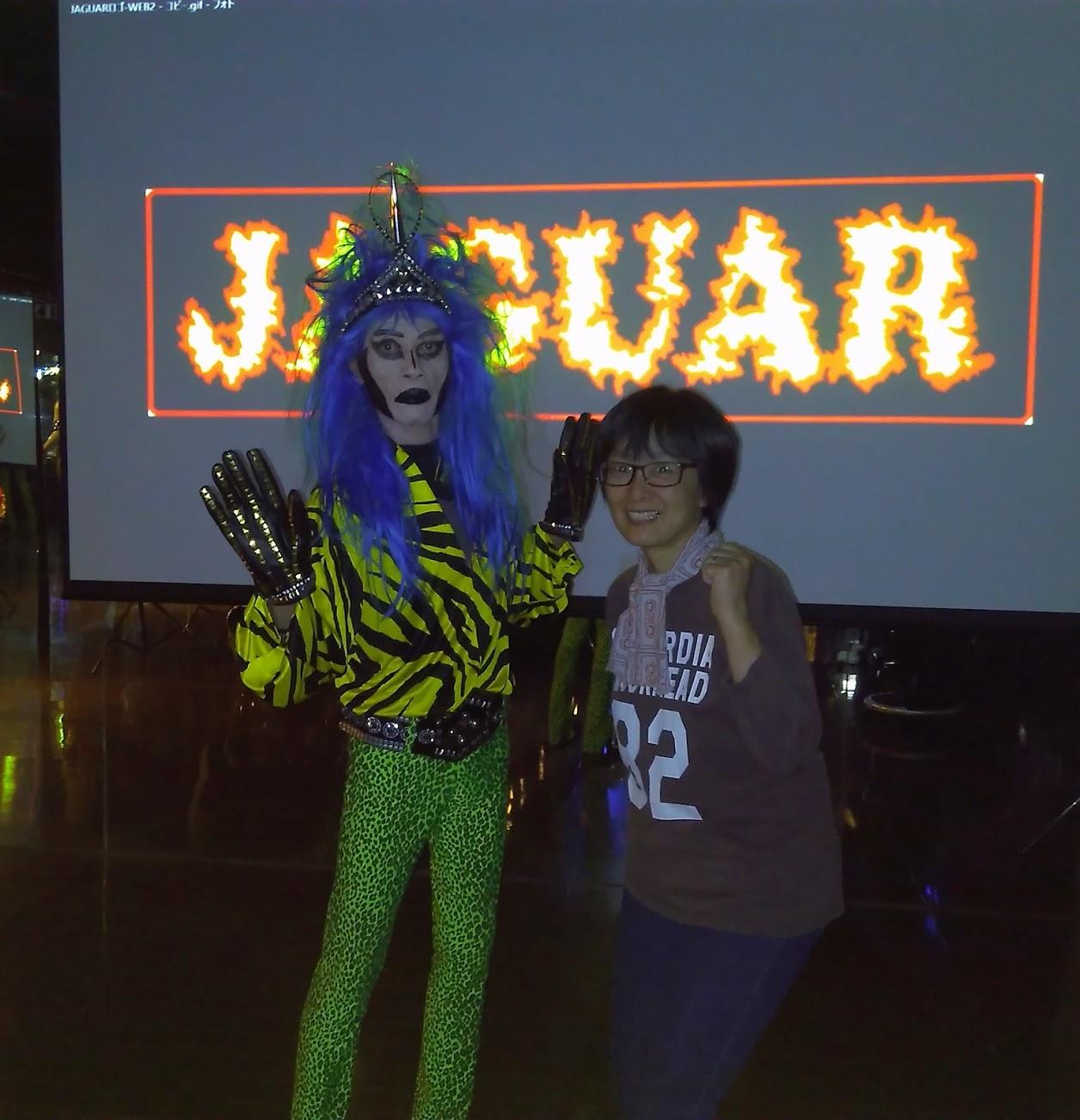 JAGUARさん©に会えました。