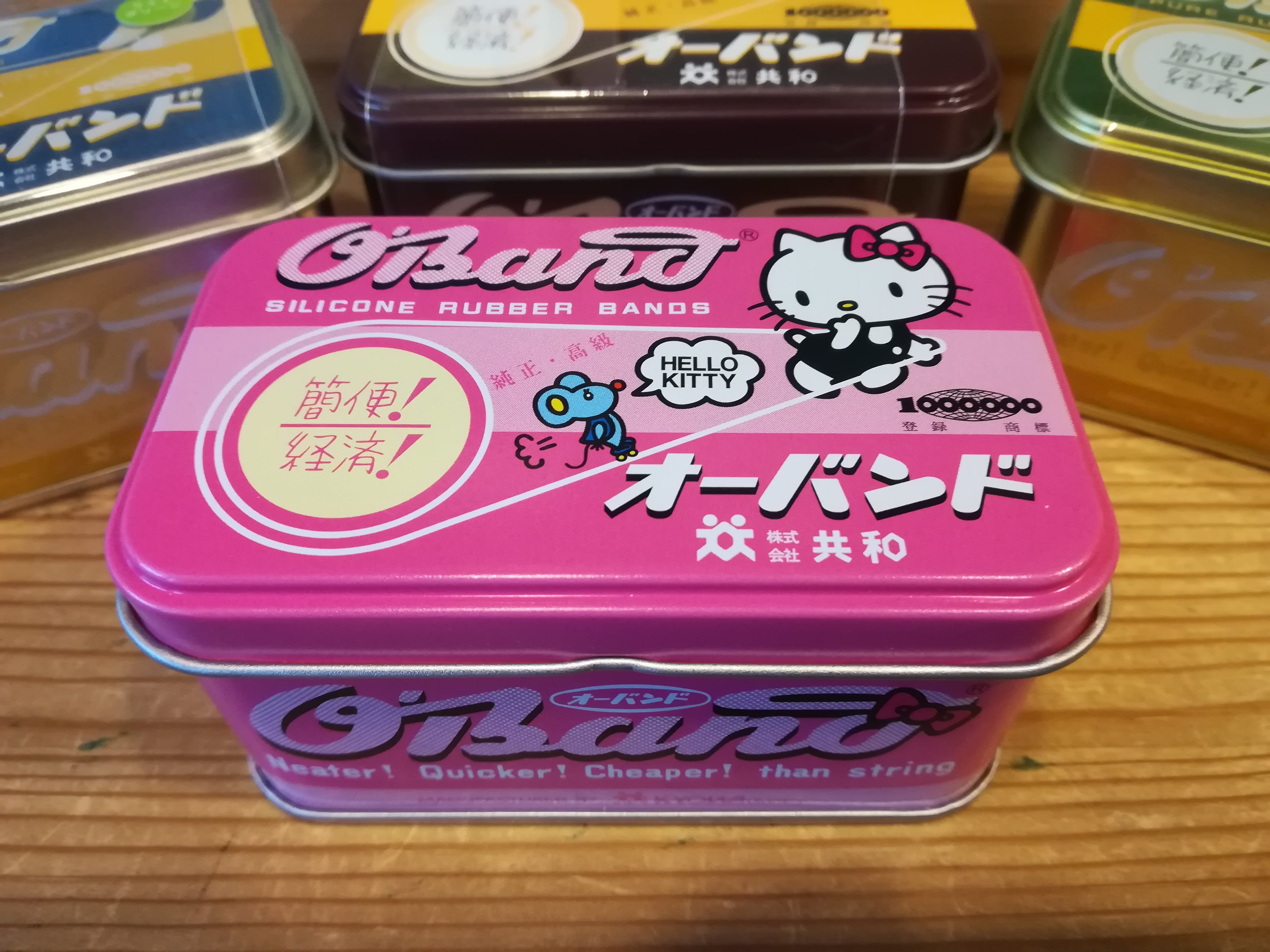 【キティちゃんオーバンド缶入荷!】